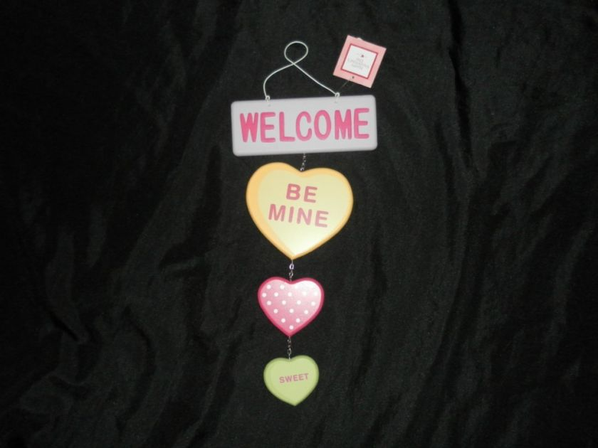 Sweet Hearts Tarts VALENTINES DAY Wall Decor Hanging